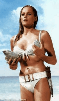 Swiss citizen Ursula Andress